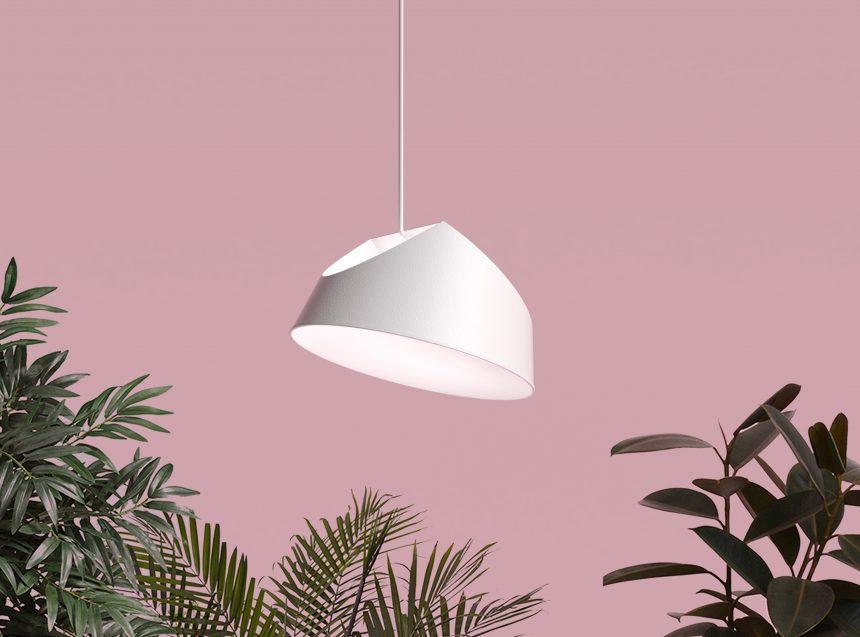 diseño iluminacion lampara techo tendencia