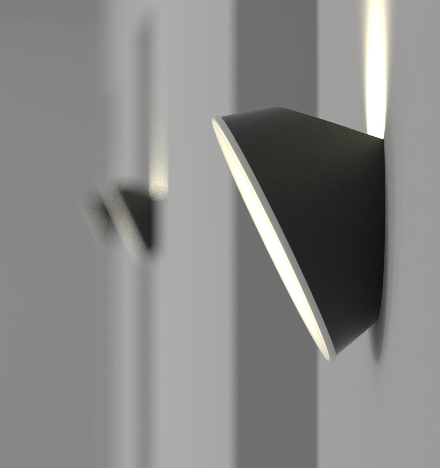 Aplique Diseño Luz Lampara Pared