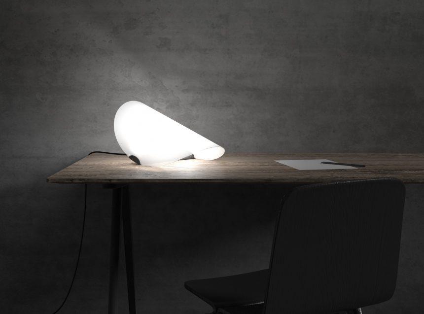 escritorio mesa lampara diseño