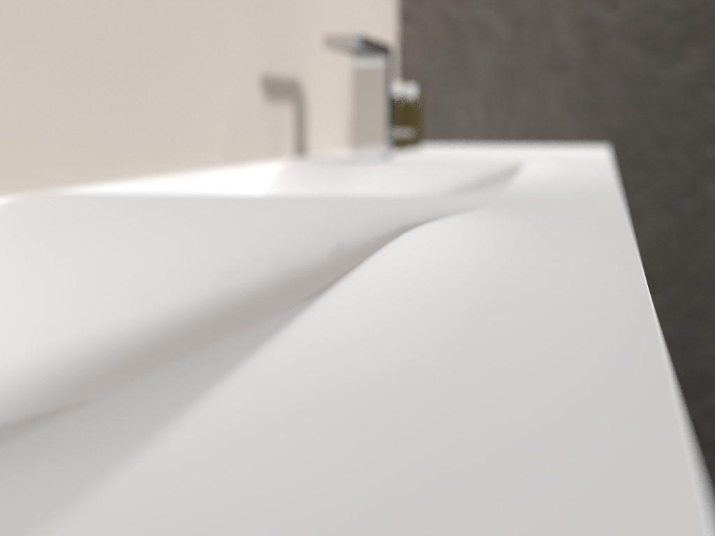 render diseño baño detalle desenfoque